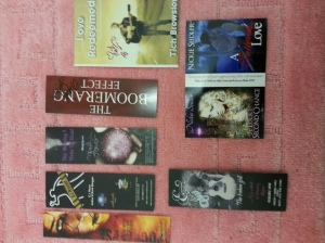 Signed bookmarks.