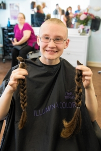 Myrryn Jamieson Hair Cut