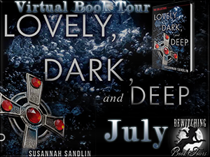 Lovely Dark and Deep July  Button 300 x 225