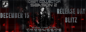 The Debt Collector Season 2 Blitz Banner 540 x 200